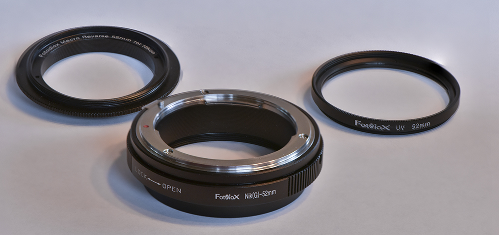 Reverse Mounted Nikon 18 55mm Lens For Macro Photography